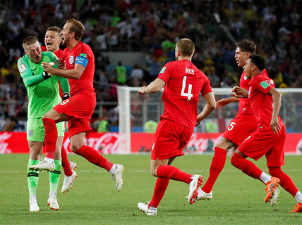 "Tuyển Anh phá ""dớp"" 11 m khi thắng Colombia 4-3"