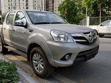 Mẫu bán tải Trung Quốc Foton Tunland đầu tiên về Việt Nam giá tới 35.500 USD