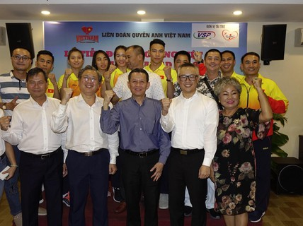 Thư giãn cùng đội tuyển boxing Việt Nam