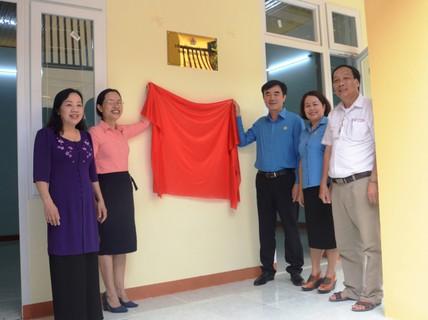 """Quảng Bình: Trao """"Mái ấm Công đoàn"""" cho giáo viên ở vùng sâu"""