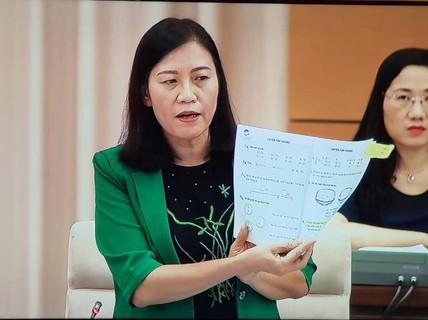 Quốc hội vào cuộc giám sát in SGK