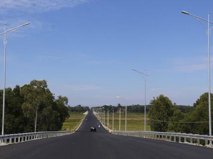 """Quảng Nam thông xe đường """"xương sống"""" của Tam Kỳ, kết nối cao tốc"""