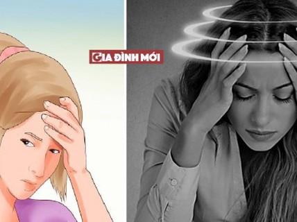 Cách giảm đau đầu chóng mặt không dùng thuốc