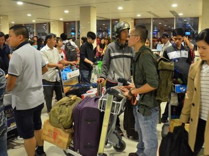 Khẩn trương chống kẹt sân bay dịp Tết