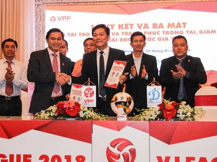 V-League 2018 vẫn chưa có nhà tài trợ chính thức