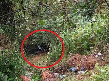Bất ngờ phát hiện chiếc ôtô dưới vực sâu có 1 phụ nữ tử vong bên trong