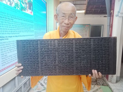 Bí ẩn những bảo vật, di sản quốc gia: Bộ kinh cổ nhất Việt Nam