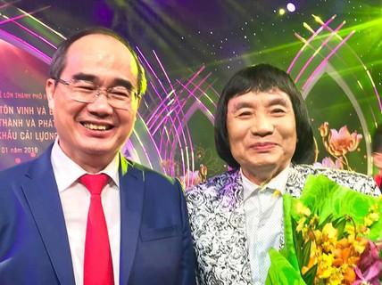 """NSƯT Minh Vương: """"Tôi không cho phép mình nghỉ hưu"""""""