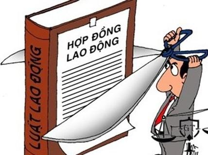 Chấm dứt hợp đồng lao động trái quy định