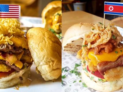"""200.000 đồng cho chiếc burger """"Durty Donald"""" dịp Hội nghị Thượng đỉnh Mỹ-Triều"""