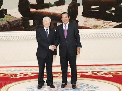 Vun đắp quan hệ Việt Nam - Campuchia