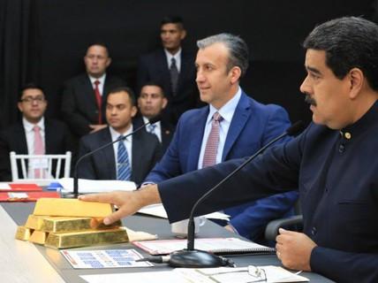 Venezuela lại bán thêm 8 tấn vàng?