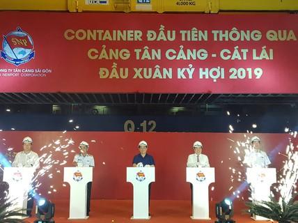 TP HCM: Tân Cảng Cát Lái phát lệnh làm hàng đầu năm