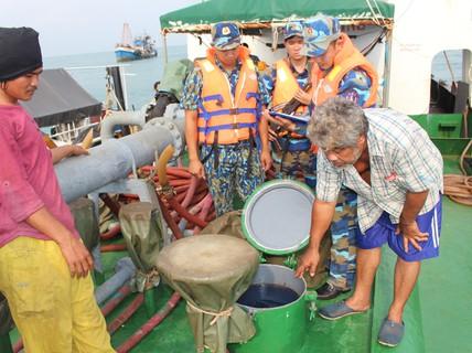 Vùng Cảnh sát biển 4 ăn Tết không quên nhiệm vụ