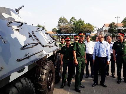 Bí thư Nguyễn Thiện Nhân: Xây dựng TP HCM thành khu vực phòng thủ vững chắc!