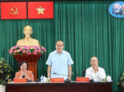 """Bí thư Thành ủy TP HCM kết luận nhiều vấn đề """"nóng"""" ở quận Tân Bình và quận 4"""