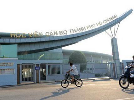 3 lãnh đạo Học viện Cán bộ TP HCM bị phê bình