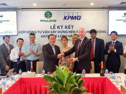 KPMG là đơn vị tư vấn nền tảng hoạt động cho Công ty Phú Long