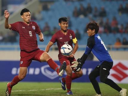 Đồng đội Xuân Trường ghi hat-trick, U23 Thái Lan thắng đậm Brunei