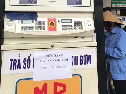 """Đại lý xăng dầu """"trần tình"""" tạm ngừng bán xăng RON 95 là do... hỏng xe bồn"""