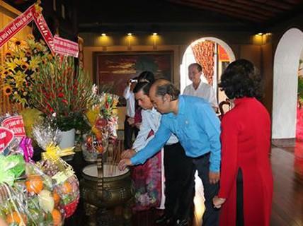 Lễ tưởng niệm 39 năm ngày mất Chủ tịch Tôn Đức Thắng