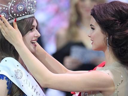 Cận cảnh nhan sắc ngọt ngào của tân Hoa hậu Nga