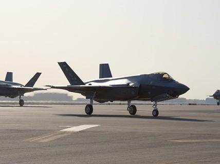 """Mỹ lần đầu đưa """"Tia chớp"""" F-35A tới chảo lửa Trung Đông"""