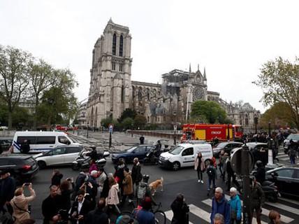 Cháy nhà thờ Đức Bà Paris: Nỗi đau khôn nguôi