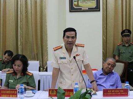Đại tá Nguyễn Sỹ Quang làm Phó Giám đốc Công an TP HCM