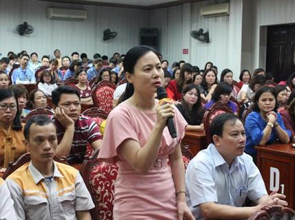 Hà Nội: Lãnh đạo huyện đối thoại với cán bộ Công đoàn và CNVC-LĐ