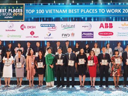 DKSH là một trong top 100 nơi làm việc tốt nhất Việt Nam