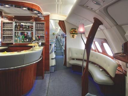 200 triệu đồng để tắm trên khoang hạng nhất máy bay