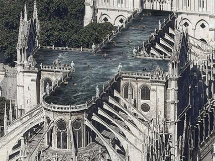 Choáng với những mẫu thiết kế Nhà thờ Đức Bà Paris