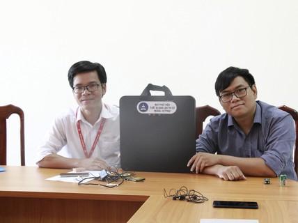 Xem máy chống gian lận thi cử do Đại học Tây Nguyên chế tạo