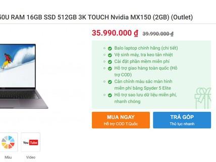 Đến lượt người dùng Windows lo lắng với laptop Huawei
