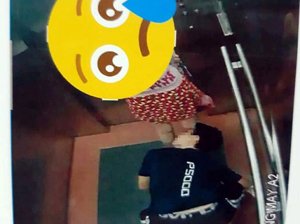"""Truy tìm kẻ """"biến thái"""" quỳ xuống nhìn ngược vào váy phụ nữ đi cùng thang máy"""