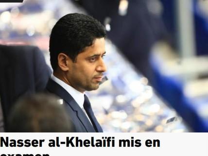 """""""Ông trùm"""" PSG dính nghi án hối lộ, bóng đá Pháp rối beng"""