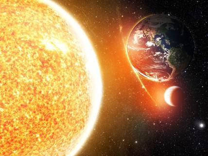 Mặt trời thay đổi, Sao Hỏa dễ sống hơn trái đất?