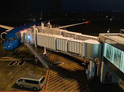 Máy bay Boeing 787 đi Đức quay lại sân bay Nội Bài sau 30 phút