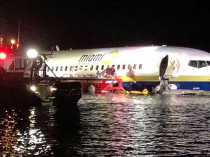 Mỹ: Máy bay lao xuống sông, gần 150 người thoát chết thần kỳ