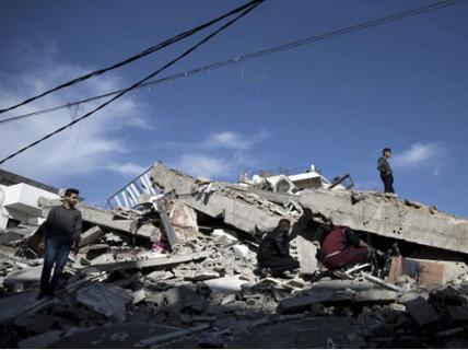 """Dải Gaza: 600 tên lửa """"đổi"""" 27 mạng người"""