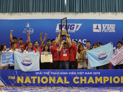 Đại học Tôn Đức Thắng vô địch VUG futsal