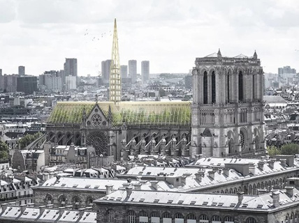 10 ý tưởng tái thiết kế Nhà thờ Đức Bà Paris
