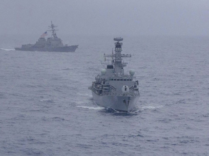 Mỹ, Nhật Bản, Ấn Độ và Philippines tập trận chung ở biển Đông