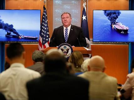 Mỹ cáo buộc Iran tấn công tàu chở dầu ở Vịnh Oman