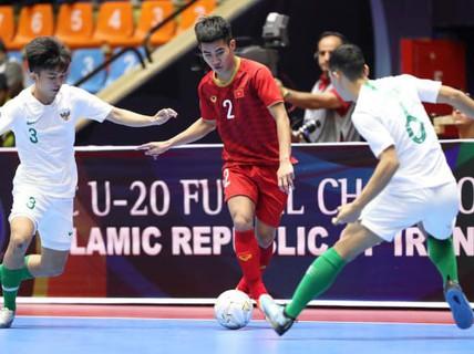 Thua Indonesia ở tứ kết, Việt Nam bị loại khỏi VCK U20 futsal châu Á