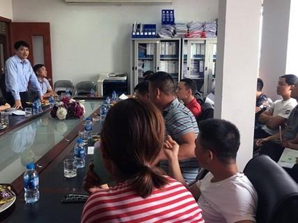 CÔNG ĐOÀN TỔNG CÔNG TY HÀNG HẢI VIỆT NAM: Gặp gỡ lao động bị mất việc