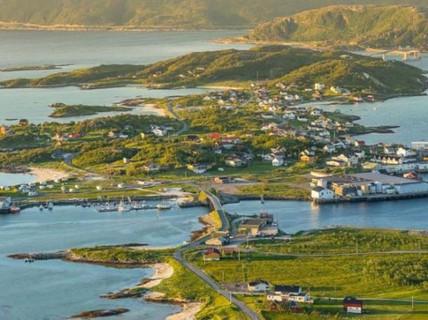 Kỳ lạ hòn đảo ở Na Uy đón ánh mặt trời suốt 69 ngày/năm