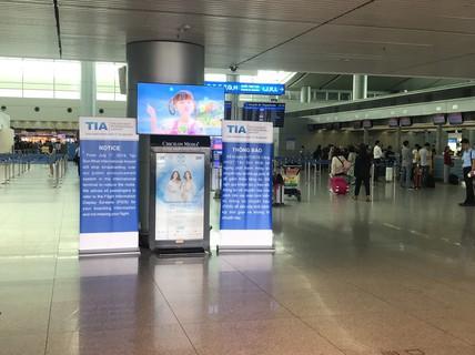 Sân bay Tân Sơn Nhất áp dụng loạt giải pháp thay phát thanh qua loa