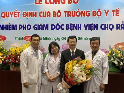 Bệnh viện Chợ Rẫy có thêm phó giám đốc chuyên môn